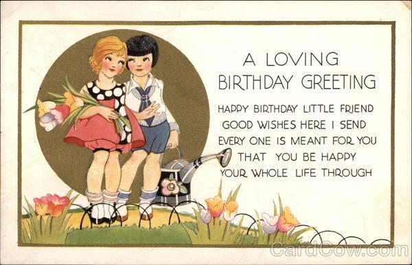 A Loving Birthday Greeting