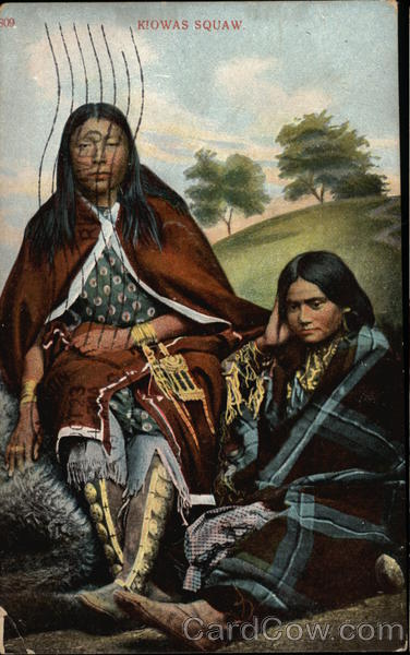 Kiowas Squaw Native Americana