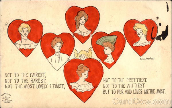Not to the Fairest, Not to the Rarest, Not the Most Lovely I Toast, Not to the Prettiest