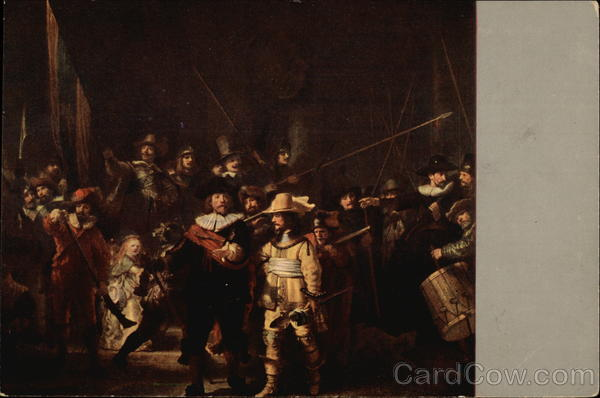 The Nightwatch by Rembrandt van Rijn Art Maximum Cards