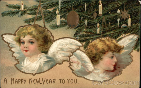 A Happy New Year to You Angels & Cherubs