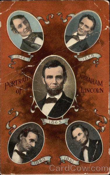Portraits of Abraham Lincoln Presidents