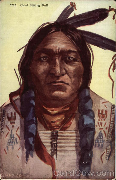 Chief Sitting Bull Native Americana