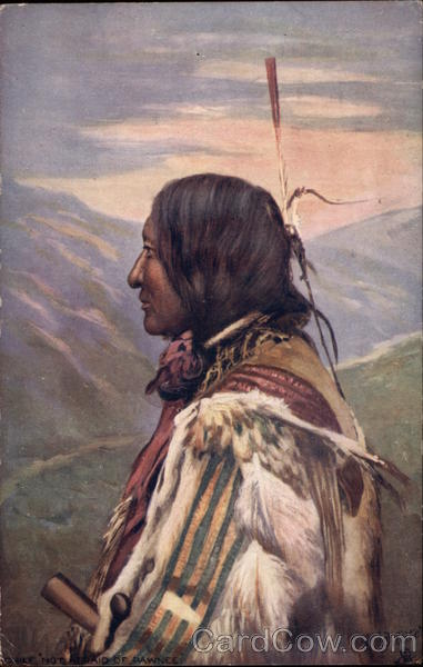 A Red Indian Chief Tuck's Oilette Series