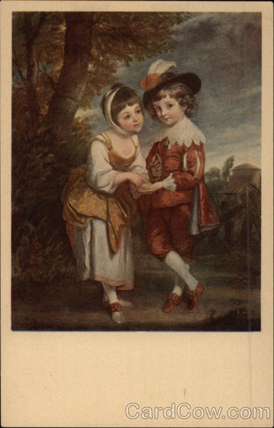 A Girl and a Boy Children