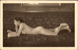 Nude Woman Reclining with a Book