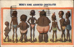 Here's Some Assorted Chocolates Postcard