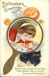 Halloween Greetings From Girl In A Mirror
