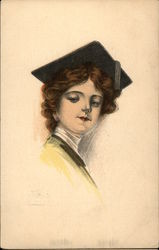 Girl Wearing Mortarboard