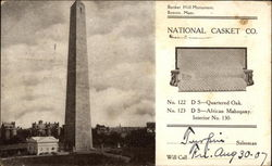 Bunker Hill Monument, Boston, Mass., National Casket Co