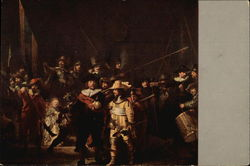 The Nightwatch by Rembrandt van Rijn