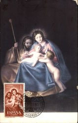 Mother Mary with baby Jesus