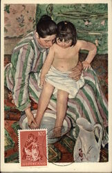 La Toilette by Mary Cassatt