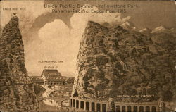Union Pacific System - Yellowstone Park Panama-Pacific Exposition, 1915