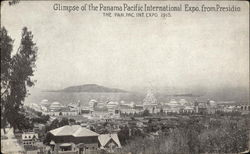 Glimpse of the Panama Pacific International Expo