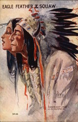 Eagle Feather & Squaw