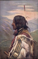 A Red Indian Chief