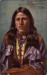 A Red Indian Woman