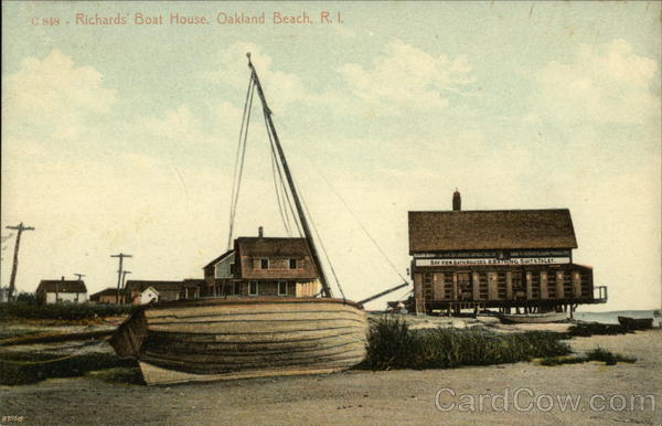 Richard's Boat House Oakland Beach Rhode Island