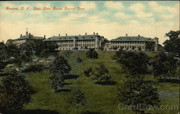 State Alms House, Howard Cranston Rhode Island