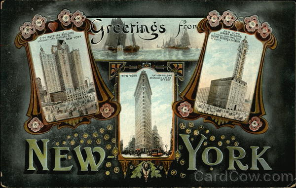 Greetings from New York New York City