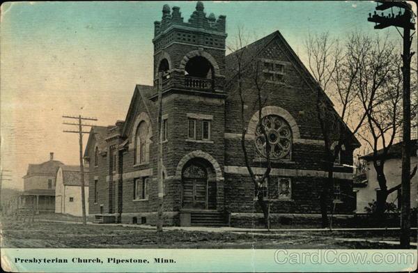 Presbyterian Church Pipestone Minnesota