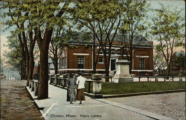 Public Library Clinton Massachusetts