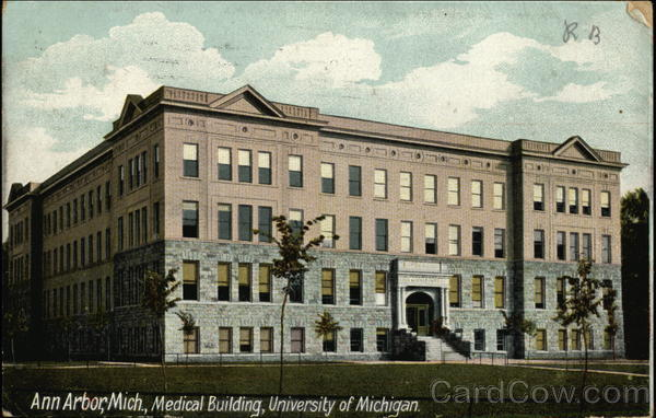 Medical Building, University of Michigan Ann Arbor
