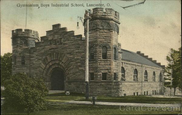 Gymnasium Boys Industrial School Lancaster Oh