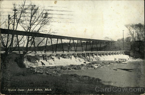 Huron Dam Ann Arbor Michigan