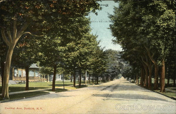 Central Avenue Dunkirk New York