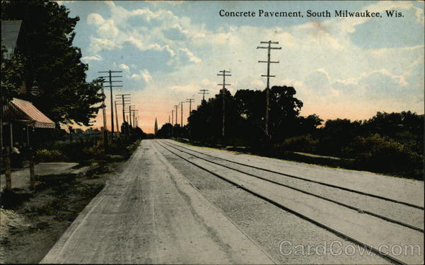 Concrete Pavement South Milwaukee Wisconsin