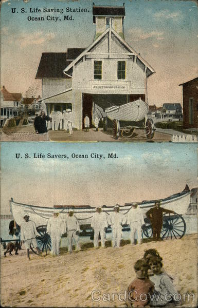 U.S. Life Savings Staion and Savers Ocean City Maryland