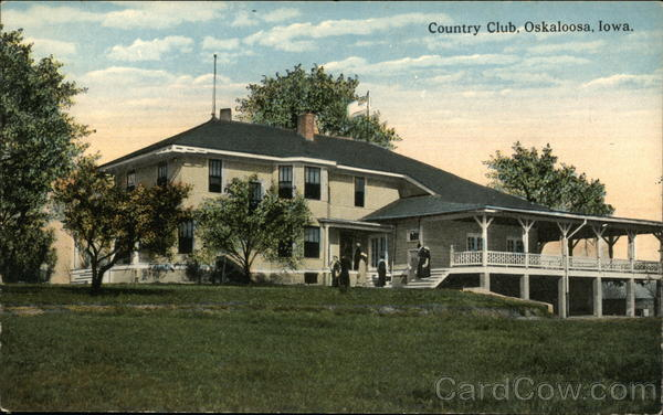 Country Club Oskaloosa Iowa