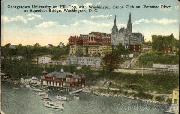 Georgetown University on Hill Top Washington District of Columbia