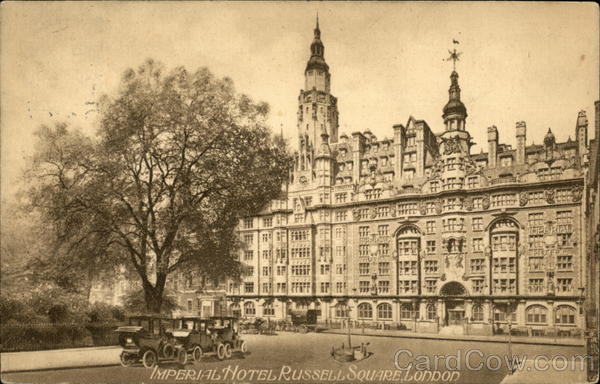 Imperial Hotel, Russell Square London England