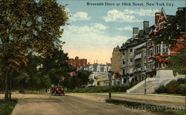 Riverside Drive at 106th Street New York City