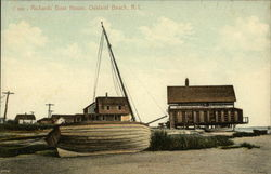Richard's Boat House Postcard