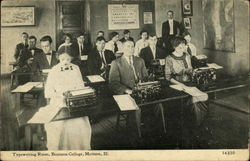 Business College - Typewriting Room