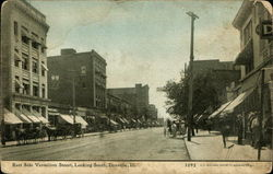 East Side Vermilion Street, Looking South