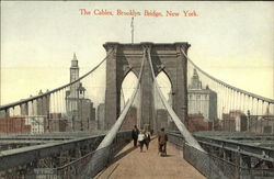 The Cables, Brooklyn Bridge, New York