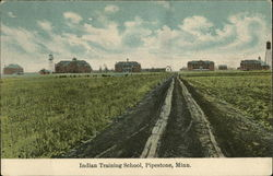 Indian Training School Postcard