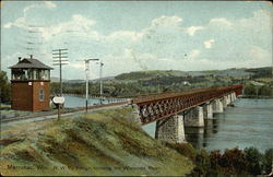 N.W. Ry. Bridge, Crossing the Wisconsin River