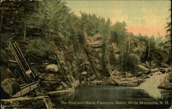 The Pool and Stairs, Franconia Notch