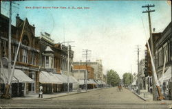 Main Street North from Penn. R.R