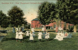 Childrens Home - Girls Playground