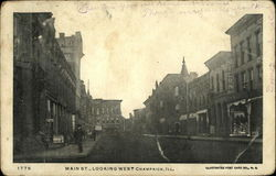 Main St., Looking West