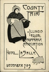 County Fair, Illinois Equal Suffrage Association, Hotel LaSalle, December 7-8-9