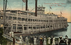 Excursion on Steamer Sidney