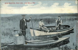 Duck Shooting, Rock Lake